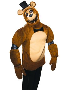 FNAF TEEN PLUSH FREDDY COSTUME