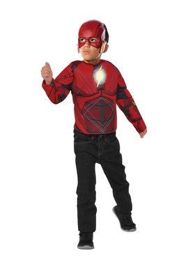 Flash Light Up Costume Top Set for Boys