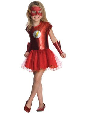 The Flash Toddler Tutu Costume