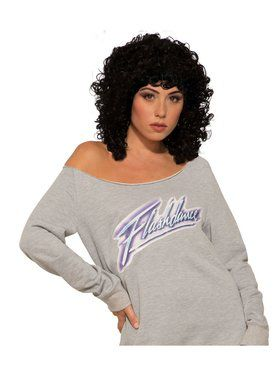 Adult Flashdance Wig