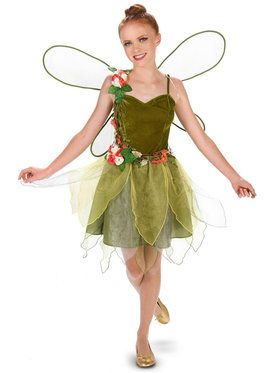 Flower Fairy Tween Costume