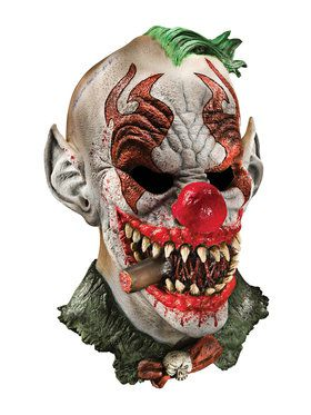 Fonzo the Clown Latex 2018 Halloween Masks