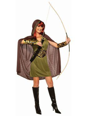 Forest Huntress Adult Costume