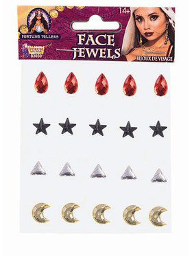 Fortune Teller - Face Jewels - 20 Pcs