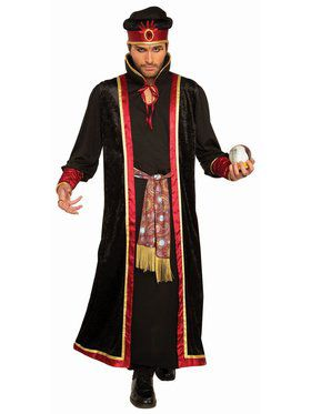 Fortune Teller - Male Dark Fortune Teller Adult Costume