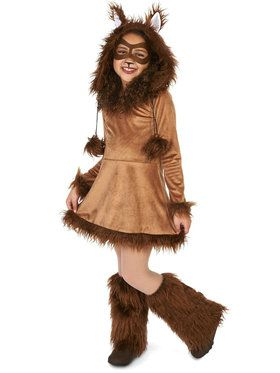 Fox Tween Costume
