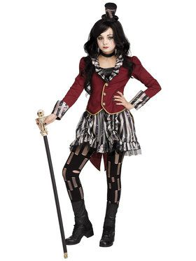 Freakshow Ringmistress Child Costume Medium