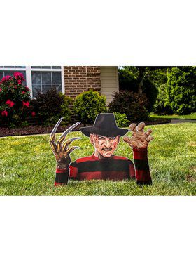 Freddy Krueger Printed Corrugated Ground Breaker