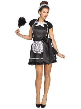 French Maid Apron Headband