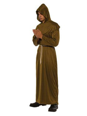 Friar Robe Adult Costume