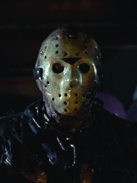 Jason Friday the 13th Window Cling
