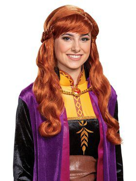 Frozen 2 Anna Adult Wig