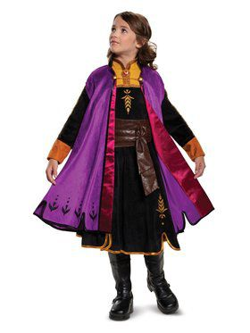 Frozen 2 Princess Anna Prestige Child Costume