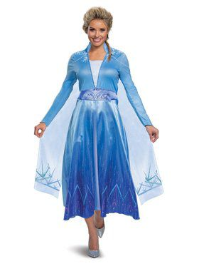 Frozen 2 Elsa Deluxe Ladies Costume