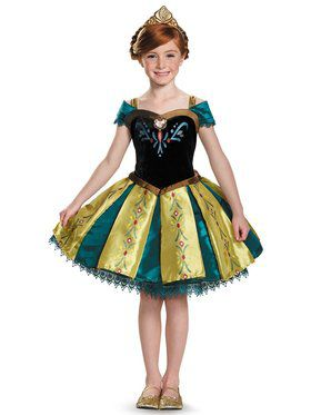 Frozen: Anna Coronation Gown Prestige Tutu Child Costume Todd