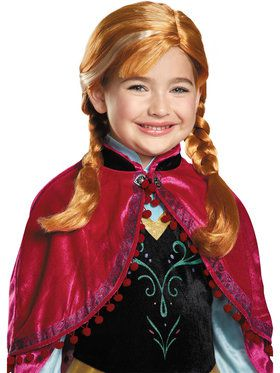 Frozen: Anna Wig For Kids