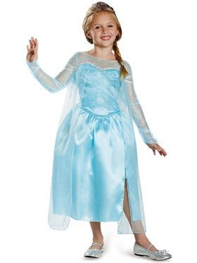 Frozen - Elsa Snow Queen Girls Costume