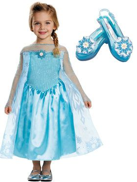 Frozen Elsa Toddler Costume Kit