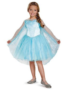 Frozen: Elsa Prestige Tutu Costume For Toddler Girls