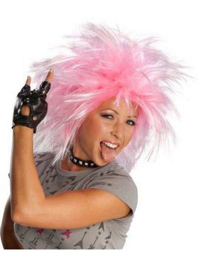 Funky Punk Wig - Pink