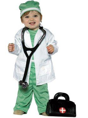Future Doctor Child Costume 3T-4T