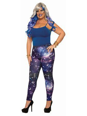 Galaxy Leggings - Plus