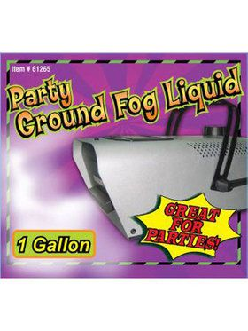 Gallon Of Ground Fog Liquid