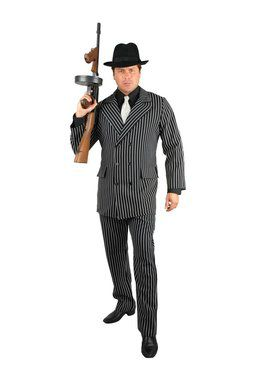 Gangster - Plus Adult Costume