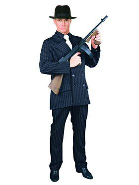 Gangster Suit - 4 Button Adult Costume