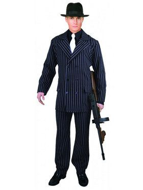 Gangster Suit Plus Costume
