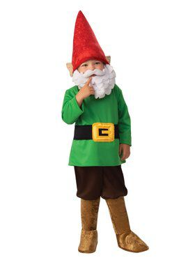 Garden Gnome Boy Child Costume