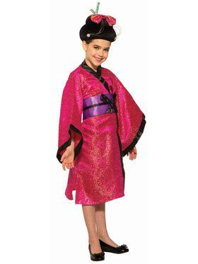 Geisha Plush Wig - Child