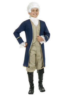 George Washington Boy's Child Costume