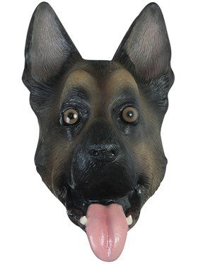 German Shepherd Adult Mask