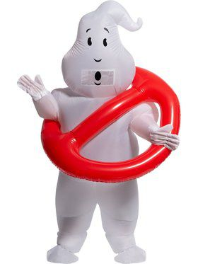 Ghostbusters Adult No Ghosts Inflatable Adult Costume