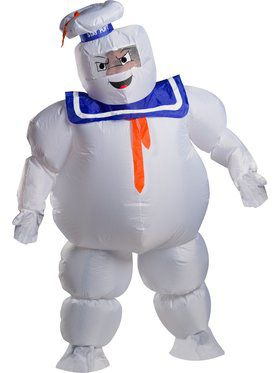 Ghostbusters Adult Stay Puft Inflatable Adult Costume