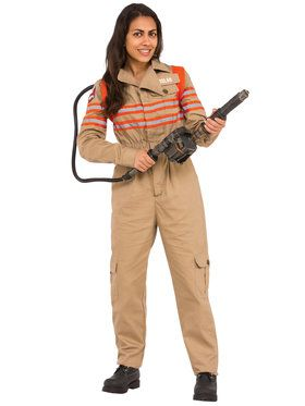 Ghostbusters Movie Grand Heritage Female Ghostbuster Costume for Adults