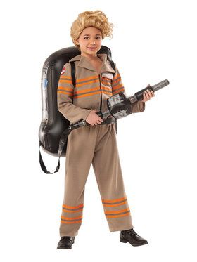 Girl's Ghostbusters Movie Deluxe Costume