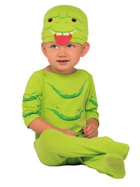 Ghostbusters Infant Slimer Jumpsuit