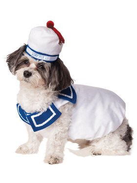 Pet Stay Puft Ghostbusters Costume