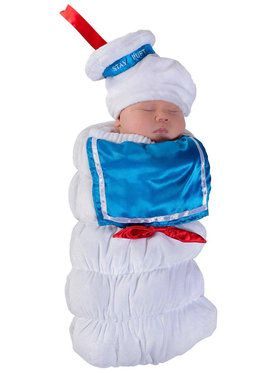 Stay Puft Ghostbusters Swaddle