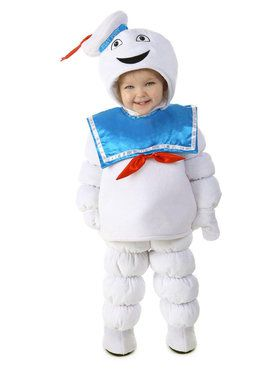 Toddler's Ghostbusters Stay Puft Costume
