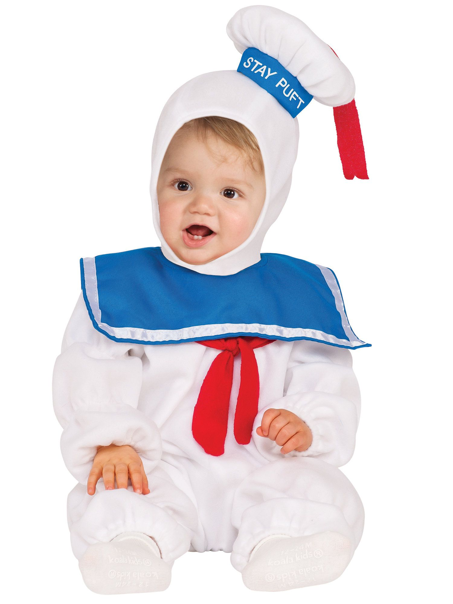 ghostbusters toddler stay puft ez on romper kids 2018 halloween costumes buycostumescom