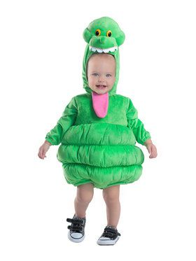 Boys Toddler Deluxe Ghostbuster Slimer Costume