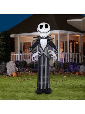 The Nightmare Before Christmas Giant Disney Jack Skellington Airblown