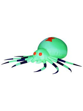 Giant Hanging Animated Spider Inflatable with Lights