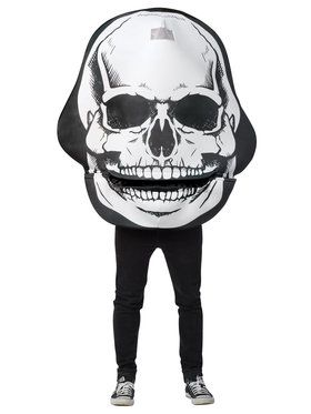 Giant Skull Costume for Adults Standard