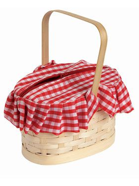 Gingham Basket