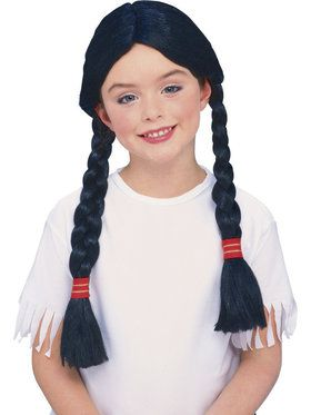 Indian Girl Wig for Children