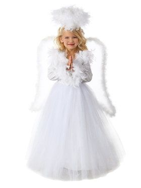Girls Annabelle The Angel Costume